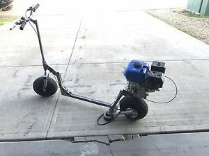 Scooter Project new 6.5 HP engine.