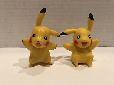 """2007 JAKKS Pokemon Pikachu 2"""" PVC Figures Toys"""
