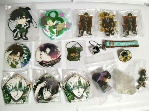 Saiyuki - Hakkai - Lot of 16 - Keychain Badge Pin Figure Strap