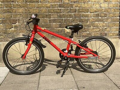 Frog 52 (20 inch frame) Kids Bike in red. Used, but in good condition.
