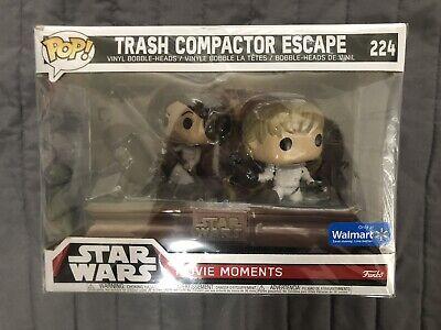 Star Wars Funko POP #224 Trash Compactor Escape Movie Moments Walmart Exclusive