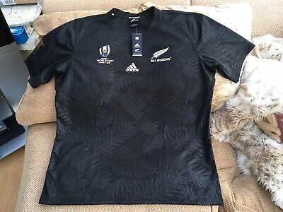 Adidas New Zealand Rugby World Cup 2019 Home Shirt 2XL Brand New With Tags Mint