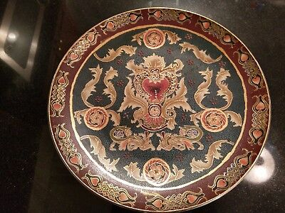 Huge Chinese Hand Painted & Decorated Platter