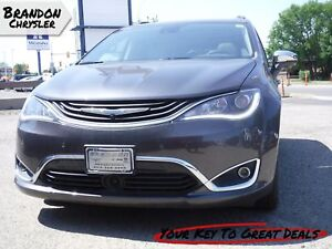 2018 Chrysler Pacifica Hybrid Limited ~ Leather Proforated Heate