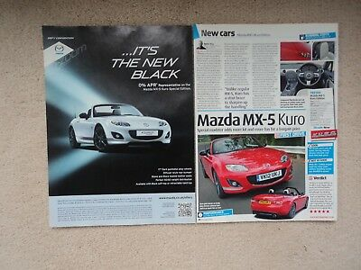 Mazda MX-5 Kuro Special Edition -  Advertisement /First Drive - 2012