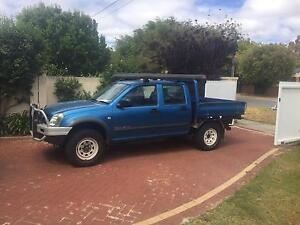 2005 holden rodeo 4x4 turbo diesel Como South Perth Area Preview