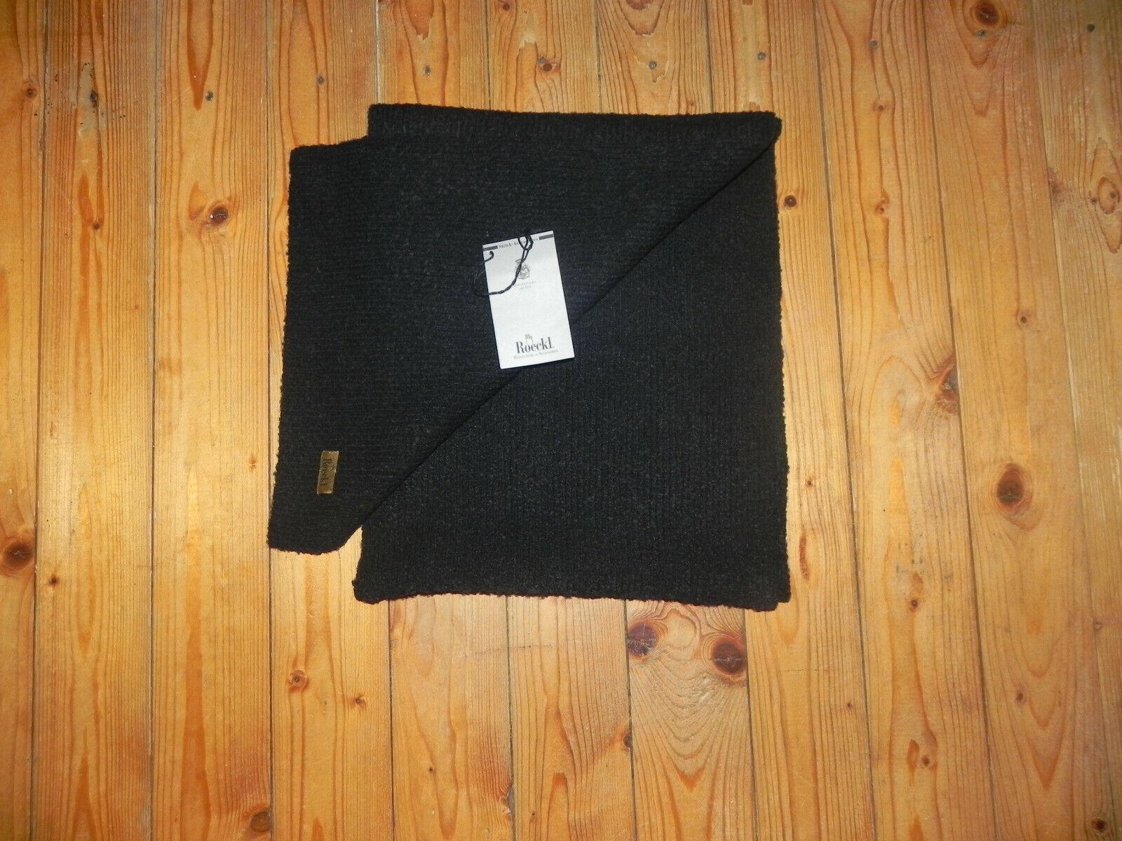 Roeckl Damen Schal schwarz Wolle