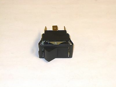 1 Pc. Carling Tigl51-1c-bl-fn-blk Dpdt Rocker Switch 250 Vac 34hp10a New