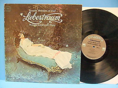 Favorite Melodies of Franz Liszt Liebestraum Entremont 1965 Columbia MS 6723