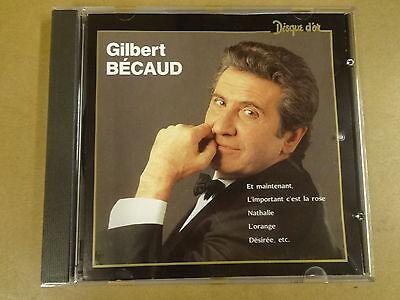 CD / GILBERT BECAUD - DISQUE D'OR