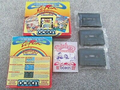 Rainbow Collection For Commodore 64 / C64  Game Compilation Bubble Bobble - READ