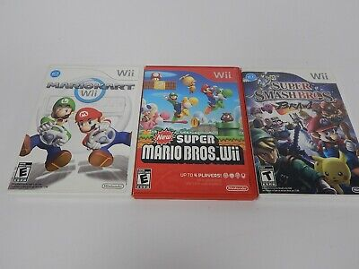 Lot of 3 Nintendo Wii Games
