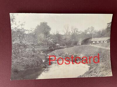 Postcard size photo Carshalton