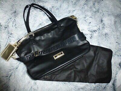 *VERSACE PARFUMS*Damentasche/Shopper schwarz/gold Purse&Dustbag NEU!
