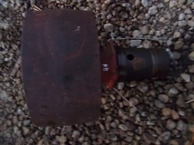 Massey Harris 44 Mh Tractor Belt Pulley Drive Assembly Steel Flat Belt Pulley