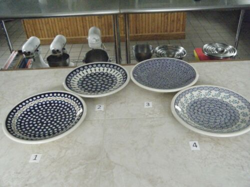 Polish Pottery,  Boleslawiec, Dinner Plate, 10 3/4 Inch