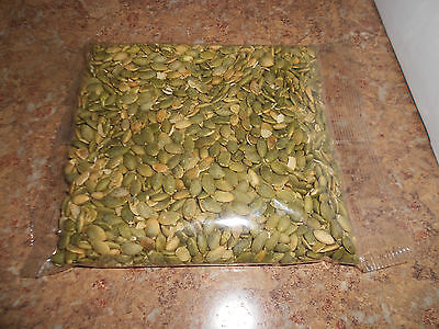 ROASTED SALTED PUMPKIN SEEDS / SHELLED / FREE, SAME DAY SHIPPING / LET