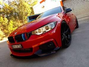 2013 BMW 435i M sport coupe M4 performance big $$ spent custom