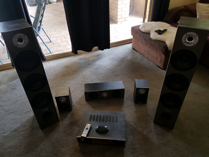 Surround sound stereo system