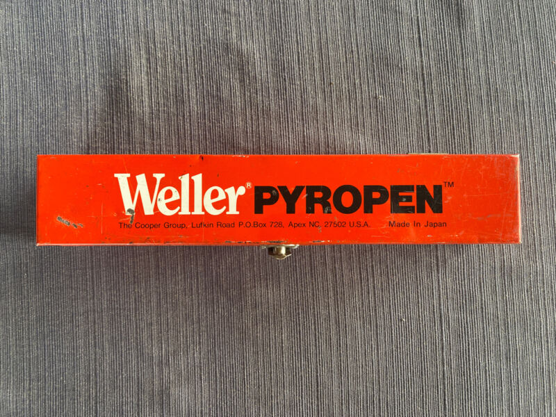 Vintage Weller Pyropen The Cooper Group - UNTESTED - Read Description