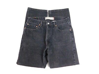 Levis 505 Mens Regular Fit Straight Leg Jeans Size 33x30