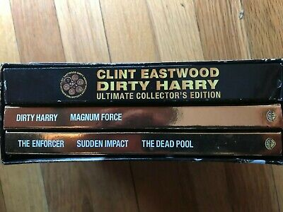 Clint Eastwood Dirty Harry Ultimate Collector's Edition DVD Box Set 5 Movies