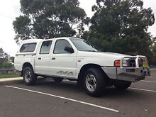 Ford Courier 2000 turbo diesel 4x4 Illawong Sutherland Area Preview