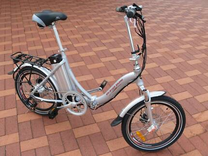 Uni Ryder folding electric bike - immac condition all accessories Rockingham Rockingham Area Preview