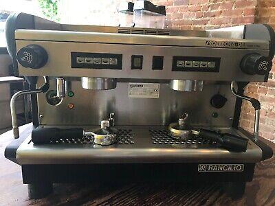 Rancilio S20 Tecna De Electronic 2 Group Commercial Espresso Machine