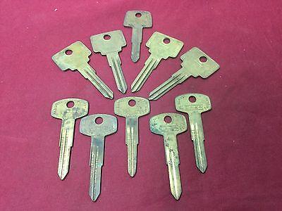 Chevy Nissan Volva By Curtis Automotive Key Blanks Set Of 10 - Locksmith