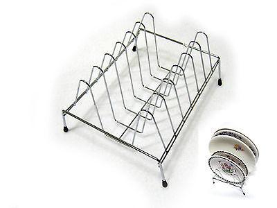 New Stainless Steel Wire Dish Drying Rack Kitchen Organizer Holder Dish Storage