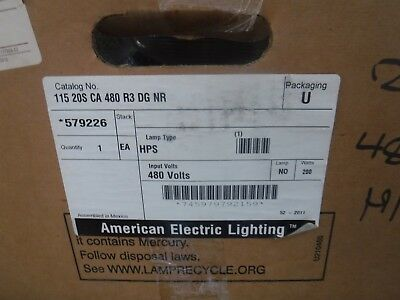 NEW NOS American Electric Lighting Roadway street light