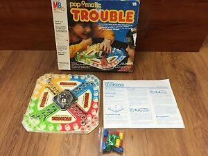 Jeu de société Trouble 1986
