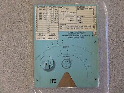 Hpc Cf209 1993up Toyota Corolla Station Wagon Key Code Machine Code Card