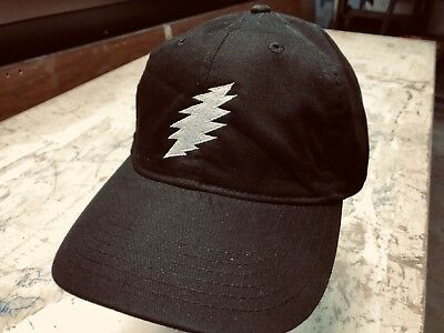 Grateful Dead Steal Your Face 'Bolt' Embroidered Low Profile Organic Cap  Cloth Low Profile Cap
