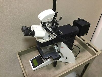 Leica Dm4000m Microscope With Dfc490 Camera Voltage 90-250vac 50-60hz
