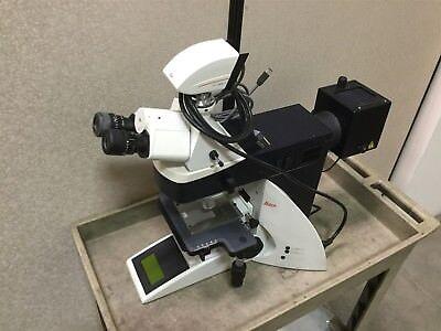 Leica Dm4000m Microscope With Dfc490 Camera Voltage 90-250vac 50-60hz