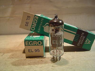 1 Stück Egro Röhre EL95 nos neu.8