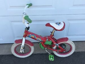 Red Dora Bike for a Little Girl