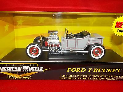 American Muscle 1 18 Ford T-Bucket Grey In Color 36673 - $32.99