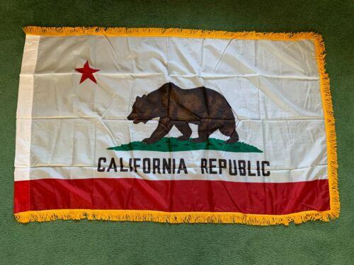 VINTAGE EMERSON FLAGS SAN FRANCISCO CALIFORNIA REPUBLIC BEAR FLAG MADE IN USA