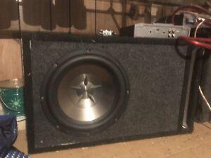 Kit de sub(systeme de son)(subwoofers + amplificateurs)