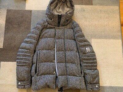 Moncler Gamme Bleu Wool/Down Jacket Size 2