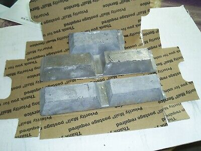 10 Pounds Lbs Pure Soft Lead Ingots for Casting Molding Jigs Sinkers Bullets