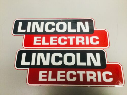 """Lincoln Electric Welder OEM Replacement Decal/Sticker Set 14"""" x 5"""""""