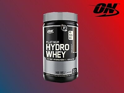 OPTIMUM NUTRITION PLATINUM HYDRO WHEY 20 SERVING HYDROLYZED PROTEIN ISOLATE BCAA