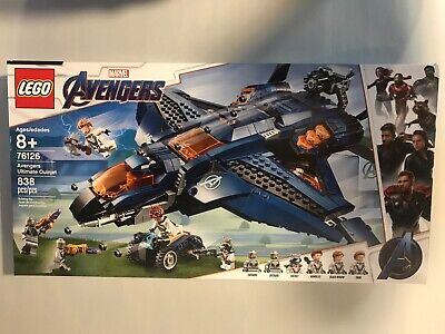 LEGO Avengers: Avengers Ultimate Quinjet (76126) 838 Pieces NEW