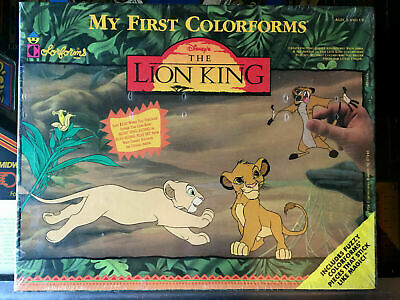 Disney's THE LION KING My First Colorforms #2406 Large Play Set Simba, New