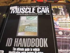Australian Muscle Car ID Handbook Murray Bridge Murray Bridge Area Preview