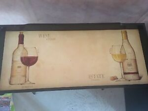 Bistro wine rack w removable tray